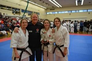 SSKI's Ladies Kata Team